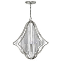 Bijou 5 Light 28 inch Polished Nickel Chandelier Ceiling Light