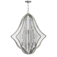Bijou 12 Light 45 inch Polished Nickel Chandelier Ceiling Light