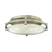 Helios 4 Light 18 inch Silver Leaf Sconce Wall Light