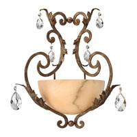 Fredrick Ramond Barcelona 1 Light Sconce in French Marble FR44106FRM