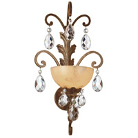Fredrick Ramond Barcelona 1 Light Sconce in French Marble FR44110FRM