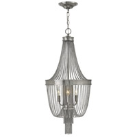 Regis 3 Light 14 inch Brushed Nickel Foyer Light Ceiling Light