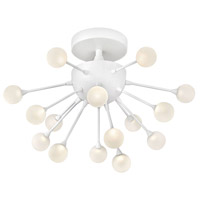Fredrick Ramond FR44411CLD Impulse LED 15 inch Cloud Semi-Flush Mount Foyer Light Ceiling Light