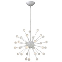 Fredrick Ramond Impulse 30 Light Chandelier in Cloud FR44413CLD