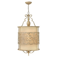 Carabel 4 Light 18 inch Brushed Champagne Foyer Light Ceiling Light