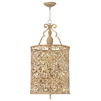 Carabel 6 Light 18 inch Brushed Champagne Foyer Light Ceiling Light