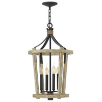 Sherwood 4 Light 15 inch Cottage Whitewash Foyer Chandelier Ceiling Light