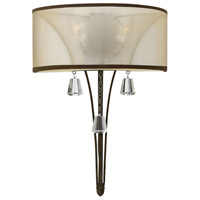 Fredrick Ramond Mime 2 Light Sconce in French Bronze FR45602FBZ