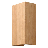 Fredrick Ramond Zen 2 Light Sconce in Bamboo FR46200BAM