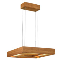 Fredrick Ramond Zen 4 Light Chandelier in Bamboo FR46204BAM