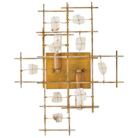 Fredrick Ramond FR47882LGD Petra 2 Light 18 inch Luster Gold Sconce Wall Light