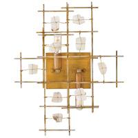 Fredrick Ramond FR47882LGD Petra 2 Light 18 inch Luster Gold Sconce Wall Light