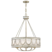 Sirena 5 Light 22 inch Champagne Gold Chandelier Ceiling Light, Single Tier