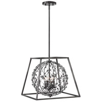 Fredrick Ramond FR48204ANI Artemis 4 Light 18 inch Antique Nickel Chandelier Ceiling Light