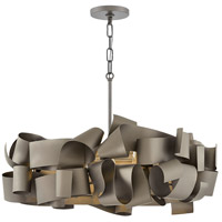 Fredrick Ramond FR48604MMB Delfina 5 Light 26 inch Metallic Matte Bronze Chandelier Ceiling Light, Single Tier