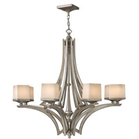 Fredrick Ramond San Simeon 8 Light Chandelier in Silver Leaf FR49192SLF
