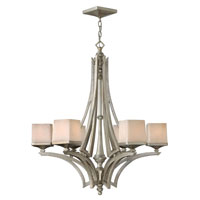 Fredrick Ramond San Simeon 6 Light Chandelier in Silver Leaf FR49196SLF