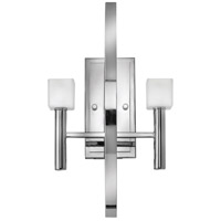 Fredrick Ramond Mondo 2 Light Sconce in Polished Chrome FR49292PCM