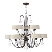Fredrick Ramond Prosecco 9 Light Chandelier in Renaissance Copper FR49438RCO