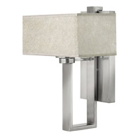 Quattro 1 Light 12 inch Brushed Nickel Sconce Wall Light