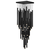 Fredrick Ramond FR49908BLK Harmony LED 18 inch Black Pendant Ceiling Light