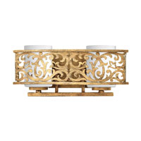 Fredrick Ramond Carabel 2 Light Bath Vanity in Brushed Champagne FR57672BCH