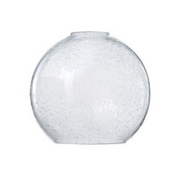 Vivo Clear Seedy 7 inch Glass in Clear Seedy Glass