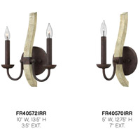 Fredrick Ramond FR40570IRR Middlefield 1 Light 5 inch Iron Rust Sconce Wall Light alternative photo thumbnail