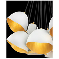 Fredrick Ramond 35904SHW Nula 1 Light 14 inch Shell White Pendant Ceiling Light, Single Tier alternative photo thumbnail