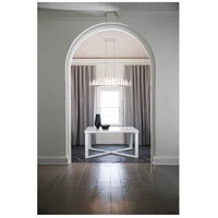 Fredrick Ramond FR46108PNI Trinity LED 48 inch Polished Nickel Linear Chandelier Ceiling Light, Oval alternative photo thumbnail