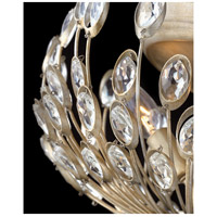 Fredrick Ramond FR31024SLF Tulah 4 Light 20 inch Silver Leaf Chandelier Ceiling Light, Two Tier alternative photo thumbnail