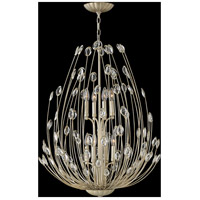 Fredrick Ramond FR31028SLF Tulah 8 Light 27 inch Silver Leaf Chandelier Ceiling Light, Two Tier alternative photo thumbnail