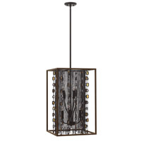 Fredrick Ramond Mercato 6 Light Foyer in Anchor Bronze FR32546ABR
