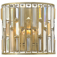 Fredrick Ramond Gemma 2 Light Sconce in Silver Leaf FR33732SLF