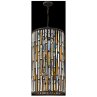 Fredrick Ramond FR33736VBZ Gemma 6 Light 16 inch Vintage Bronze Pendant Ceiling Light alternative photo thumbnail