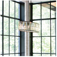 Fredrick Ramond FR33738VBZ Gemma 6 Light 45 inch Vintage Bronze Foyer Light Ceiling Light alternative photo thumbnail