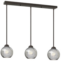 Fredrick Ramond Vivo 3 Light Pendant in Vintage Bronze with Faux Mercury Glass FR37515VBZ