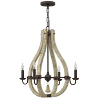 Fredrick Ramond FR40574IRR Middlefield 4 Light 22 inch Iron Rust Chandelier Ceiling Light, Single Tier alternative photo thumbnail