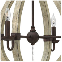 Fredrick Ramond FR40574IRR Middlefield 4 Light 22 inch Iron Rust/Weathered Ash Chandelier Ceiling Light alternative photo thumbnail