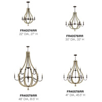 Fredrick Ramond FR40578IRR Middlefield 9 Light 41 inch Iron Rust/Weathered Ash Chandelier Ceiling Light alternative photo thumbnail