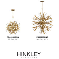 Fredrick Ramond FR40905BNG Vida 13 Light 36 inch Burnished Gold Chandelier Ceiling Light alternative photo thumbnail