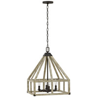 Fredrick Ramond FR41204IRR Emilie 4 Light 17 inch Iron Rust Chandelier Ceiling Light, Single Tier alternative photo thumbnail