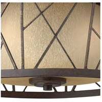 Fredrick Ramond FR41611ORB Nest 2 Light 17 inch Oil Rubbed Bronze Flush Mount Ceiling Light alternative photo thumbnail