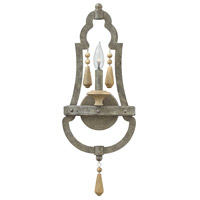 Fredrick Ramond Cordoba 1 Light Sconce in Distressed Iron FR42280DIR
