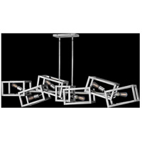 Fredrick Ramond FR42446PNI Ensemble 6 Light 62 inch Polished Nickel Linear Chandelier Ceiling Light alternative photo thumbnail