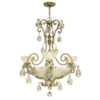 Fredrick Ramond Barcelona 3 Light Chandelier in Silver Leaf FR44100SLF