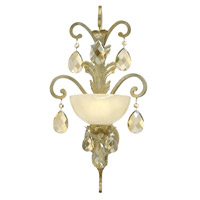 Fredrick Ramond Barcelona 1 Light Sconce in Silver Leaf FR44110SLF
