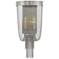 Fredrick Ramond Regis 2 Light Sconce in Brushed Nickel FR44300BNI