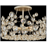 Fredrick Ramond FR44813SLF Anya 4 Light 16 inch Silver Leaf Semi-Flush Mount Ceiling Light alternative photo thumbnail