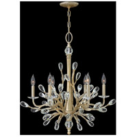 Fredrick Ramond FR46806CPG Eve 6 Light 26 inch Champagne Gold Chandelier Ceiling Light, Single Tier alternative photo thumbnail